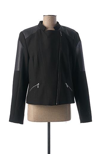 Veste casual noir FRED SABATIER pour femme