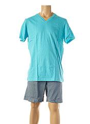 Pyjashort bleu HOM pour homme seconde vue