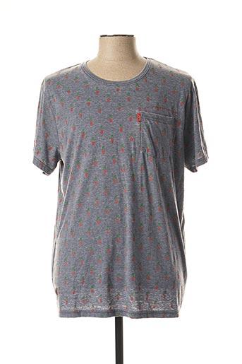 T-shirt manches courtes gris JN-JOY pour homme