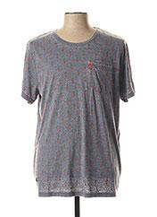 T-shirt manches courtes gris JN-JOY pour homme seconde vue