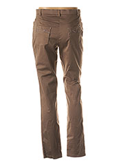 Pantalon casual marron CHRISTINE LAURE pour femme seconde vue