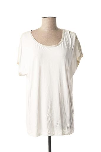 T-shirt manches courtes blanc GERRY WEBER pour femme