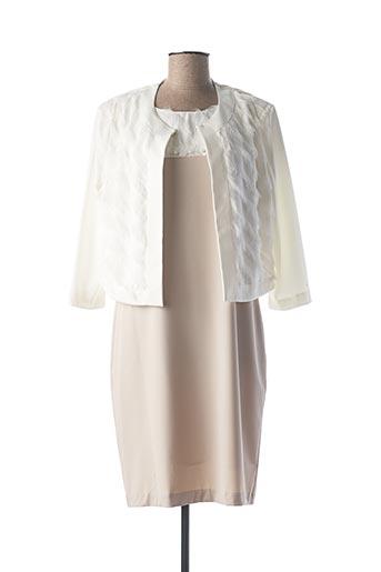 Veste/robe beige DIVAS pour femme