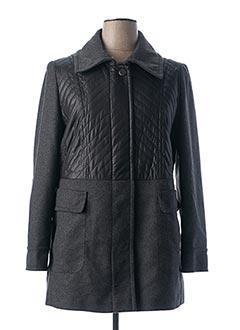 Manteau court gris FUCHS SCHMITT pour femme
