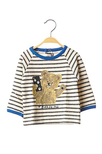 Sweat-shirt bleu MILK ON THE ROCKS pour enfant