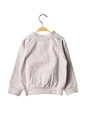 Sweat-shirt gris MILK ON THE ROCKS pour enfant seconde vue