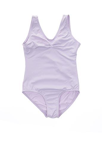 Body violet CAPEZIO pour fille