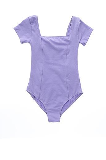 Body violet WEAR MOI pour fille