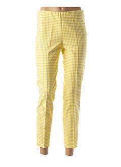 Pantalon 7/8 jaune ATELIER GARDEUR pour femme