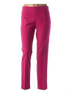 Pantalon chic rose EDAS pour femme