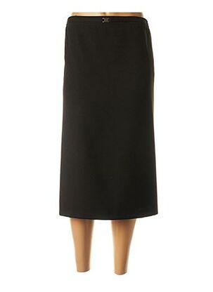 Jupe mi-longue noir CPH pour femme