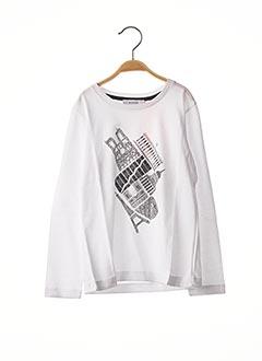 T-shirt manches longues blanc MARESE pour enfant