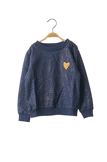 Sweat-shirt bleu MARESE pour fille
