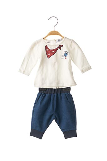 Top/pantalon blanc MARESE pour garçon