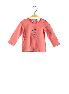 T-shirt manches longues rose MARESE pour fille