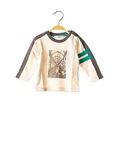 T-shirt manches longues beige MARESE pour garçon