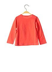 T-shirt manches longues rouge MARESE pour fille seconde vue