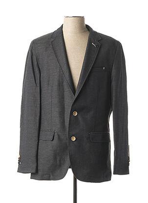 Veste chic / Blazer noir CALAMAR pour homme