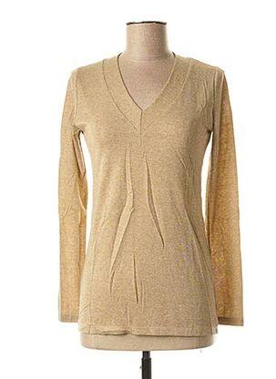 Top beige LE BOUDOIR D'EDOUARD pour femme