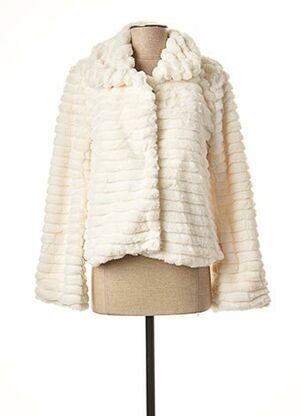 Manteau court beige LE BOUDOIR D'EDOUARD pour femme