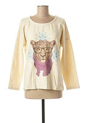 Sweat-shirt beige LE BOUDOIR D'EDOUARD pour femme
