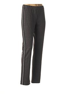 Pantalon casual gris LE BOUDOIR D'EDOUARD pour femme