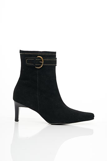 Bottines/Boots noir CARLINE pour femme