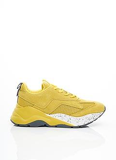 Baskets jaune BIANCO. pour femme