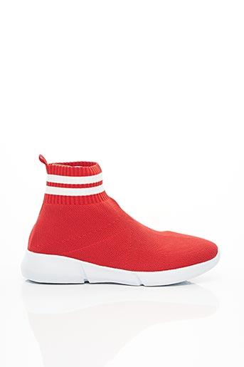 Baskets rouge BIANCO. pour femme