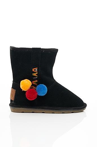 Bottines/Boots noir LES TROPEZIENNES pour fille