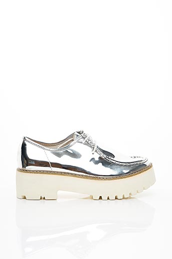 Derbies gris COOL WAY pour femme