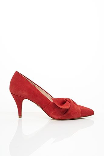 Escarpins rouge BIANCO. pour femme