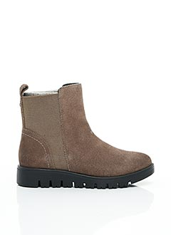 Bottines/Boots marron GIOSEPPO pour fille