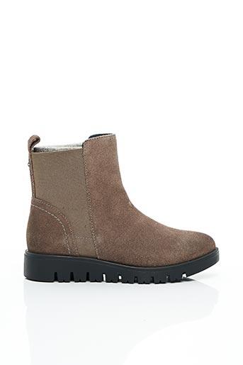 Bottines/Boots marron GIOSEPPO pour fille