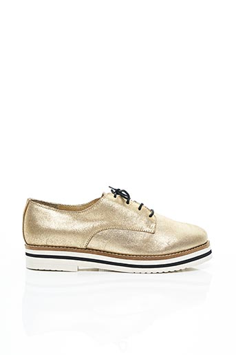 Derbies jaune COOL WAY pour femme