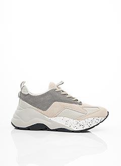 Baskets gris BIANCO. pour femme