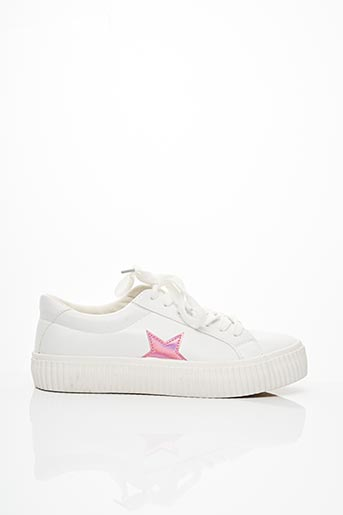 Baskets blanc COOL WAY pour femme