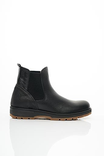 Bottines/Boots noir BULLBOXER pour homme