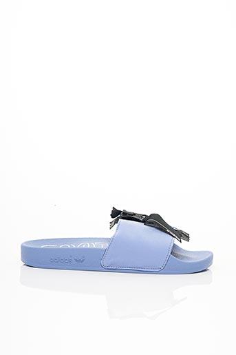Mules/Sabots bleu ADIDAS pour femme