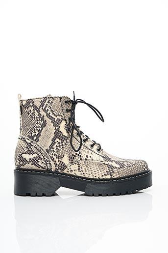 Bottines/Boots gris BULLBOXER pour femme