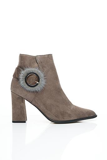 Bottines/Boots gris ELIZABETH STUART pour femme
