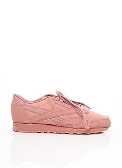 Baskets rose REEBOK pour femme
