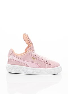 Baskets rose PUMA pour fille