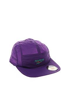 Casquette violet REEBOK pour unisexe