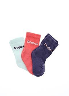 Chaussettes violet REEBOK pour fille