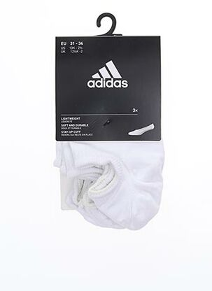 Chaussettes blanc ADIDAS pour enfant