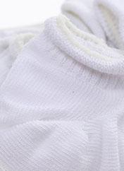 Chaussettes blanc ADIDAS pour enfant seconde vue