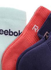 Chaussettes violet REEBOK pour fille seconde vue
