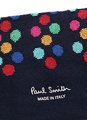Chaussettes noir PAUL SMITH pour homme seconde vue