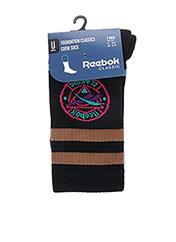 Chaussettes noir REEBOK pour unisexe seconde vue